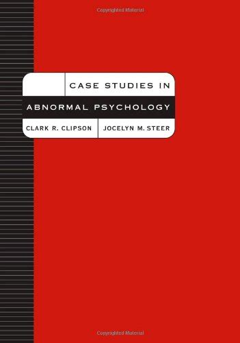 casebook in abnormal psychology studies in abnormal psychology textbooks slugbooks
