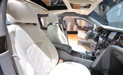 bentley mulliner interior car and driver