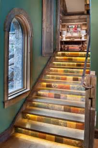 Tile Stairs Ideas by Decorative Stair Risers With Designs For All Tastes