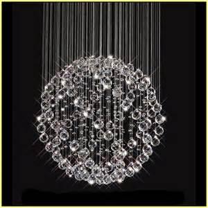 Chandelier Lamp Parts Round Crystal Chandelier Ball Home Design Ideas