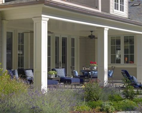 Cost Of Building A Covered Patio Porch Columns Home Design Ideas Pictures Remodel And Decor
