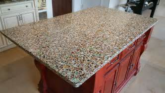 recycled glass countertops styles advantages ideas
