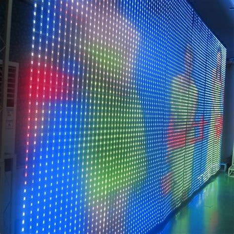 p20 p80 flexible led curtain display screen dreamcolorled