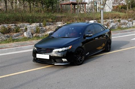 Matte Black Kia Forte Black Out Kia Forte Car Ideas Home