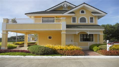 savannah style homes model house camella homes philippines camella homes floor