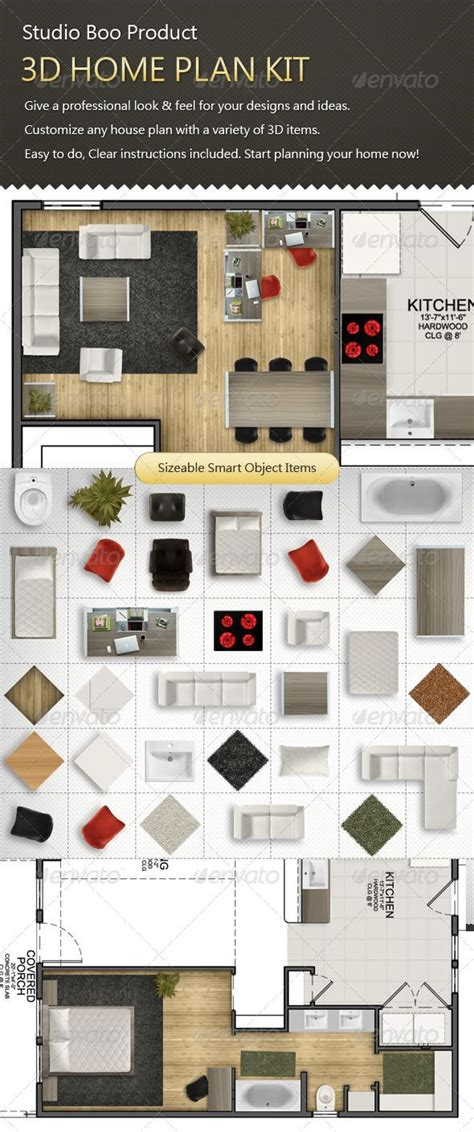 home design kit with furniture 83 best psd rendering images on pinterest arquitetura