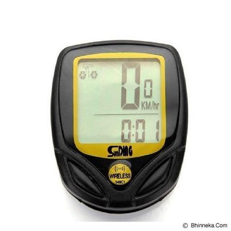 Speedometer Sepeda Backlight Lcd Sd 563b jual sunding speedometer sepeda wireless bicycle stopwatch bike cyclometers sd 548c murah