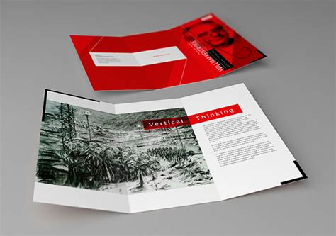 20 Simple Yet Beautiful Brochure Design Inspiration Template Design Inspiration