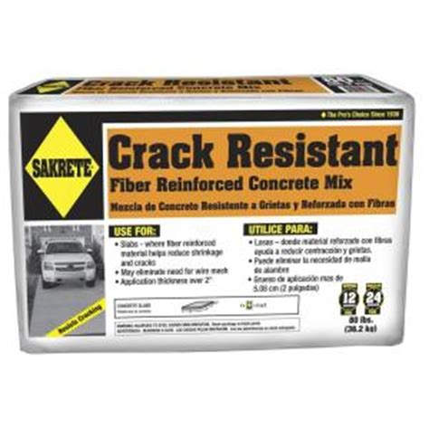sakrete 80 lb resistant concrete mix 65201090 the