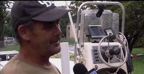 boat crash howard franklin man swims for hours in storm to rescue his family after