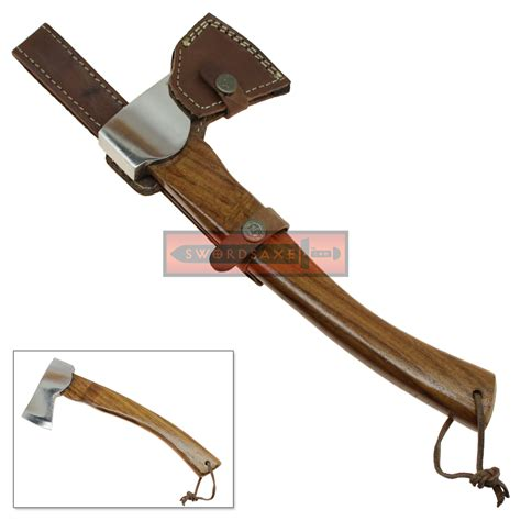 hiking hatchet polished stainless steel travel axe cing hiking