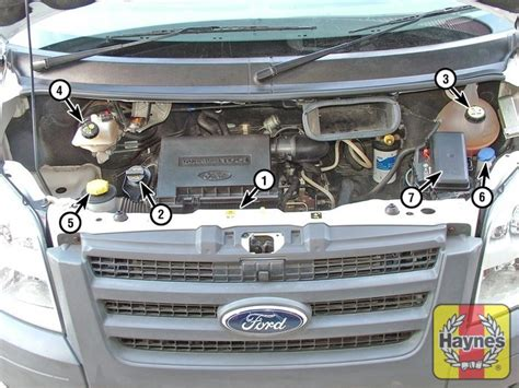 electric power steering 2010 ford transit connect engine control ford transit 2006 2013 2 4 fluid level checks haynes publishing