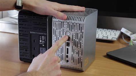 western digital thunderbolt duo tb external hard drive