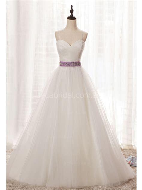 01 Princess Dress simple princess wedding dress w1037