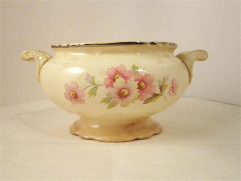 Homer Laughlin Virginia Rose 1948 Sugar Bowl and 50