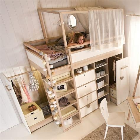 etagenbett mit schrank hochbett selber bauen mehr als 100 ideen und