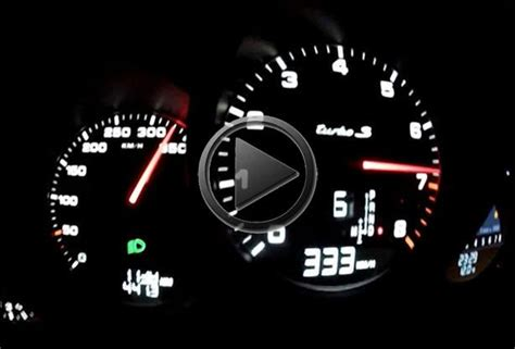 top speed of a porsche 911 2014 porsche 911 turbo s 991 top speed run
