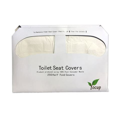 Paper Cover - yocupco yocup 1 2 fold toilet seat cover