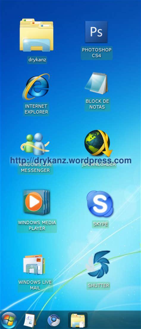 iconos para escritorio windows 7 transformar kubuntu en windows 7 parte iii un de todo