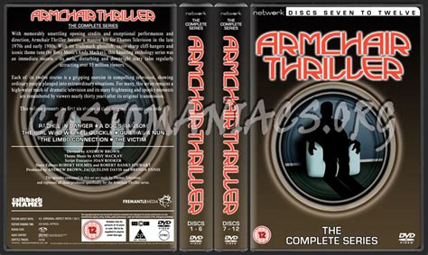 armchair thriller dvd armchair thriller the complete series dvd cover dvd