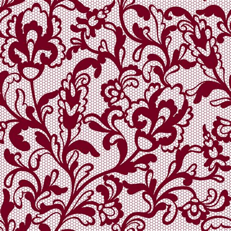 lace pattern vector png transparent decorative lace with flowers png image