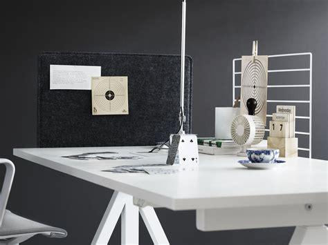 sans string au bureau t駑oignages plateau string works pour bureau l 160 cm blanc string