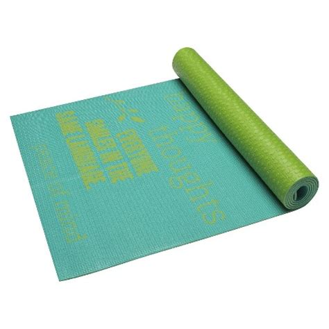 Target Exercise Mat by Gaiam Be Inspired Mat 4mm
