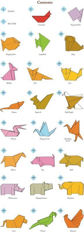1000 ideas about easy origami animals on