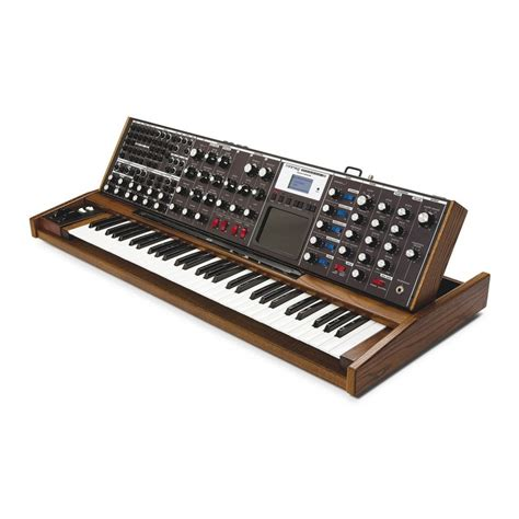 best moog synthesizer moog minimoog voyager synth compare prices at foundem