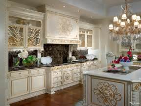 Fancy Kitchen Designs Luxury Photo Kitchen Design With White Gold Kitchen Cabinet And Fancy Chandelier Above