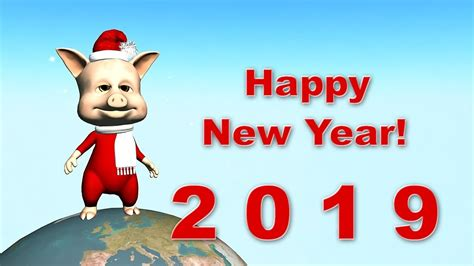 funny happy  year   pig  youtube