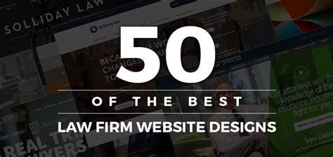 the best website best 50 firm websites lawyer website designs