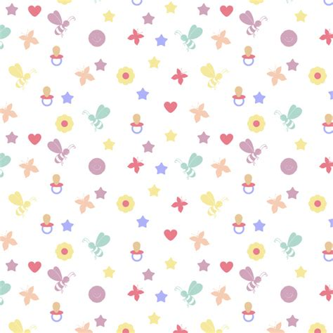 download pattern baby baby pattern free vector in adobe illustrator ai ai