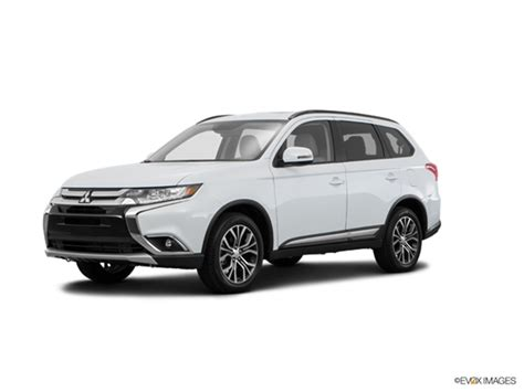 2016 white mitsubishi outlander 2016 mitsubishi outlander kelley blue book