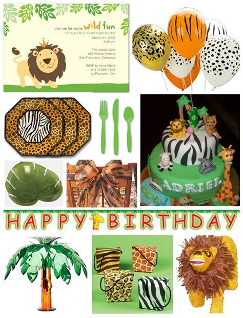 jungle safari birthday party ideas jungle theme birthday party jungle birthday party ideas