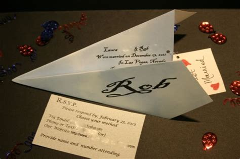 airplane wedding invitations paper airplane invites weddingbee photo gallery