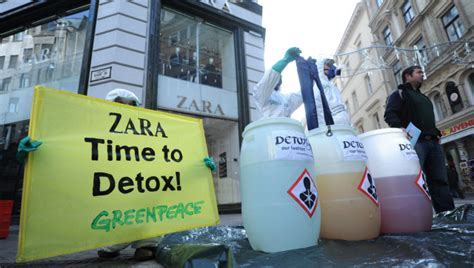 Greenpeace Deutschland Detox by Chemicals In Fast Fashion Revealed In Greenpeace S Toxic