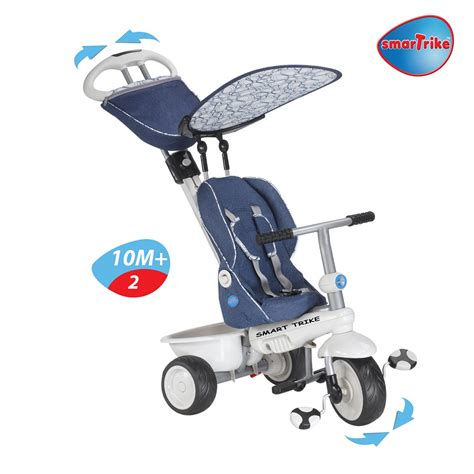 smart trike recliner stroller 4 in 1 in purple new smart trike recliner stroller 4 in 1 smartrike blue