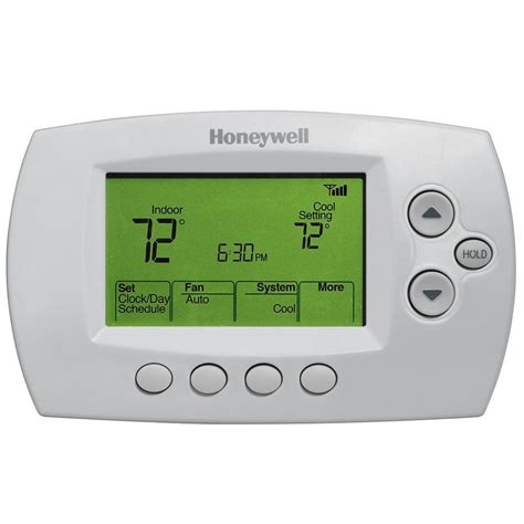 Honeywell Focuspro 6000 Programmable Thermostat Wiring Diagram Honeywell FocusPRO TH6000