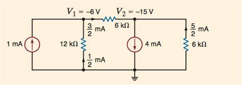 nodal analysis voltage across resistor circuit analysis how i find the current and voltage in this matrix electrical engineering