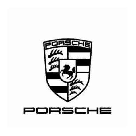porsche usa emblem porsche emblem decal sticker