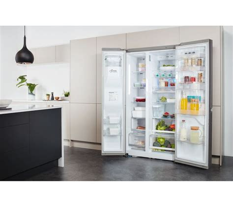 American Style Fridge Freezer No Plumbing Required by Buy Lg Gsj961nsbv American Style Fridge Freezer Stainless Steel Free Delivery Currys
