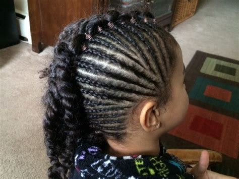 madame noire front side cornrow hairstyles side braids with two strand twists lillia s hair