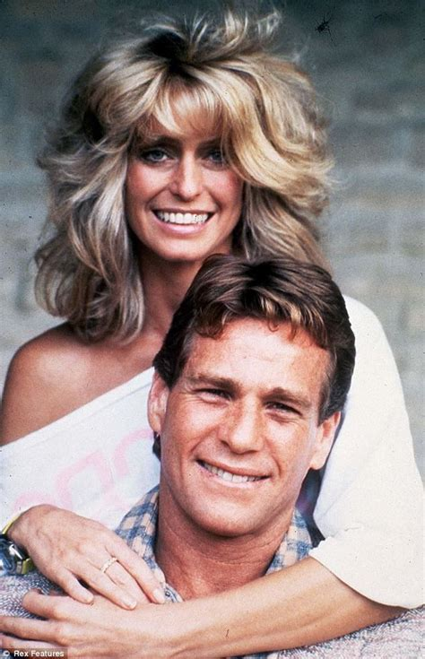 love love the and farrah fawcett on pinterest farrah fawcett ryan o neil often rocky often happy