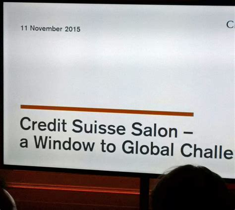Credit Suisse Mba by Credit Suisse A Primecell Sir Major A Panetta