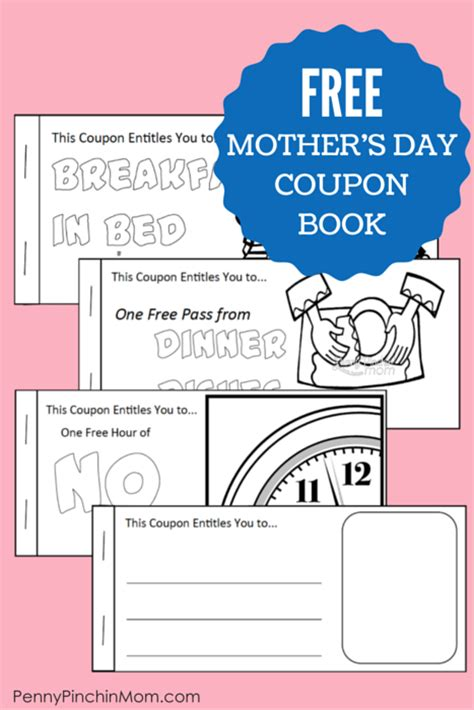 promo alert spend the picture perfect mothers day at iw free printable mother s day coupon booklet
