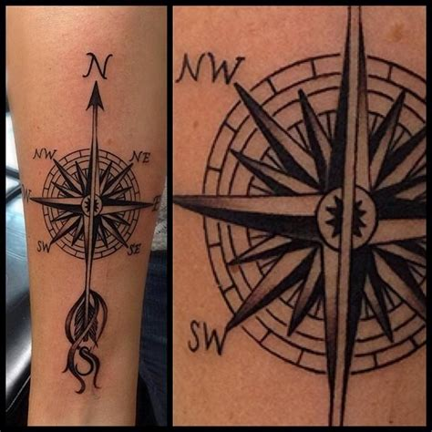 compass tattoo price compass forearm tattoo by david mushaney tattoonow