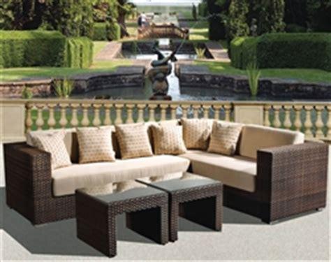 bridgeton patio furniture panorama 4pc sectional woven outdoor living set by bridgeton 10830657