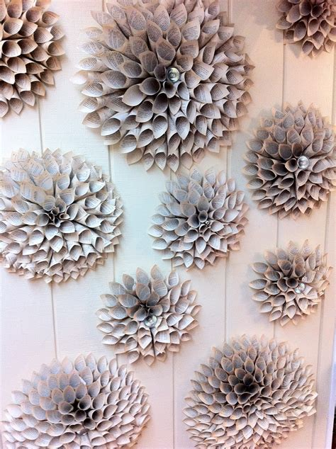 How To Make Paper Flowers For Wall - the enchanted petal how to make a paper flower medallion