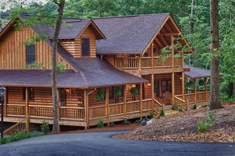mountain laurel ellijay ga rustic exterior